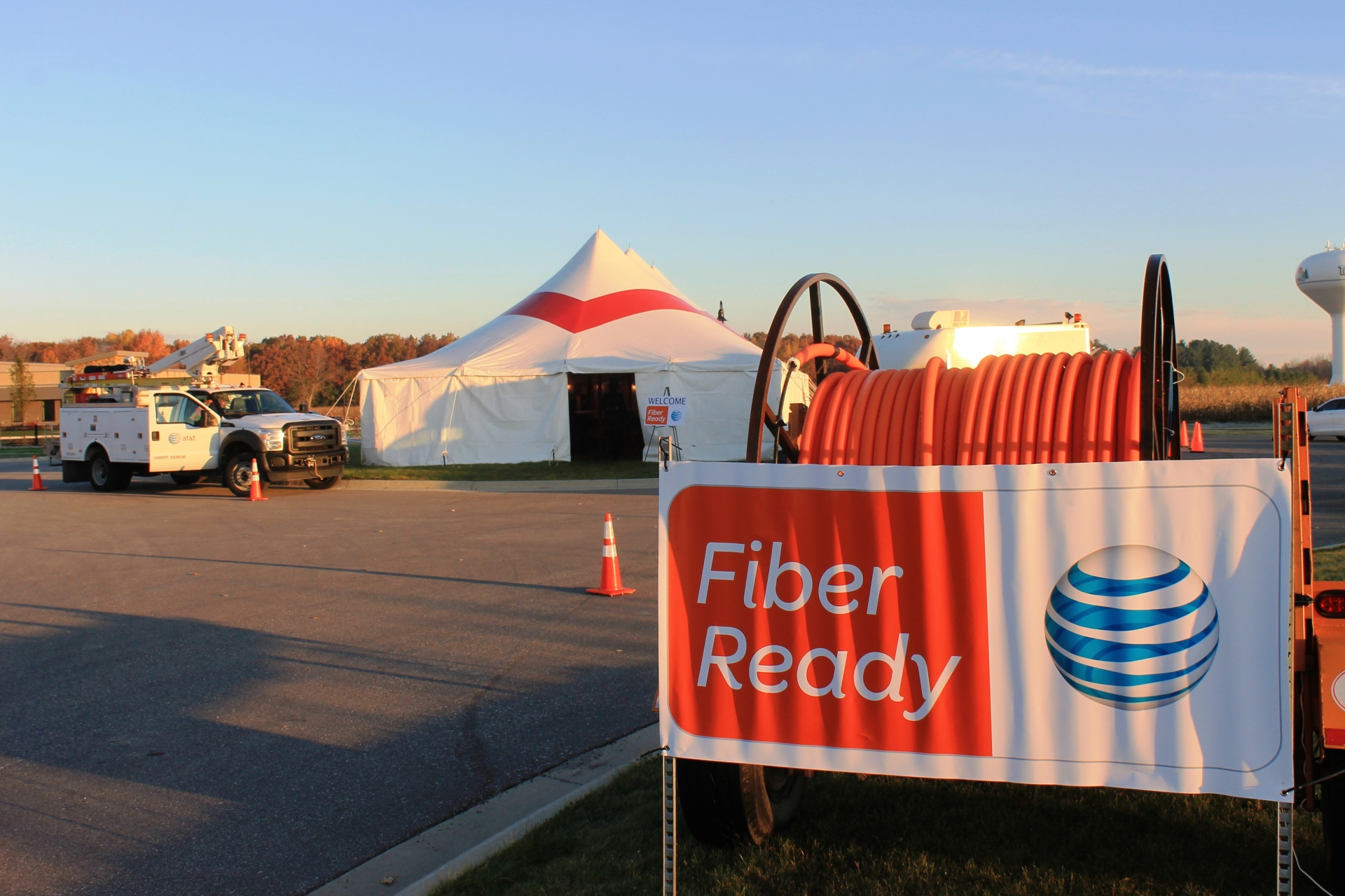 Tech Park is Fiber Ready